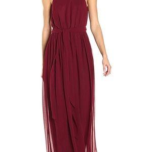 Donna Morgan Bridesmaid Dress Wine